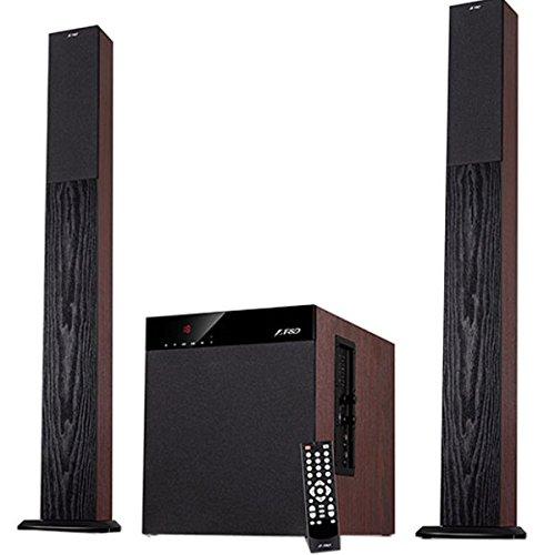 F&D T-400X Full Wooden 2.1 Tower Bluetooth Speaker
