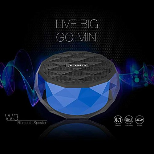 F&D W3 Wireless Portable Bluetooth Speaker (3W)