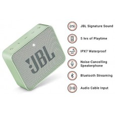 JBL GO 2 Portable Mint Color Bluetooth Speaker