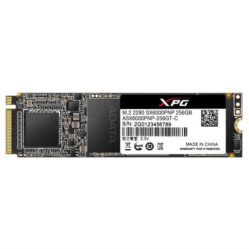 Adata XPG SX6000 Pro 256GB PCIe Gen3x4 M.2 2280 Solid State Drive