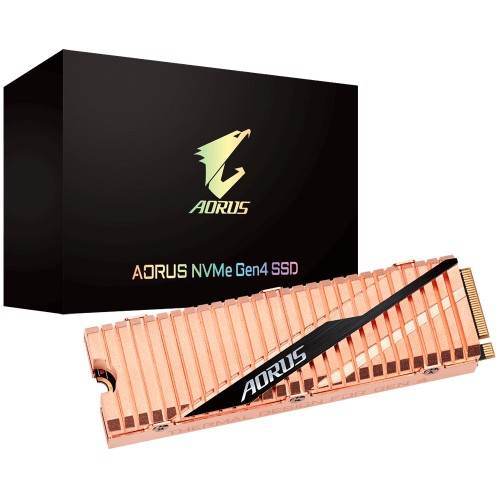 Gigabyte AORUS 1TB NVMe Gen4 M.2 SSD with Dual Sided Copper