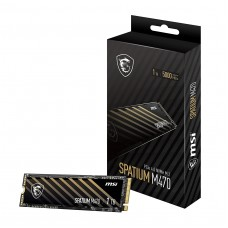 MSI SPATIUM M470 1TB PCIe 4.0 NVMe M.2 SSD
