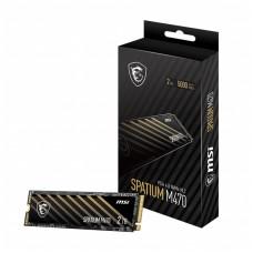 MSI SPATIUM M470 2TB PCIe 4.0 NVMe M.2 SSD