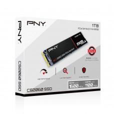 PNY CS2060 1TB M.2 2280 PCIe NVMe Gen3x2 SSD