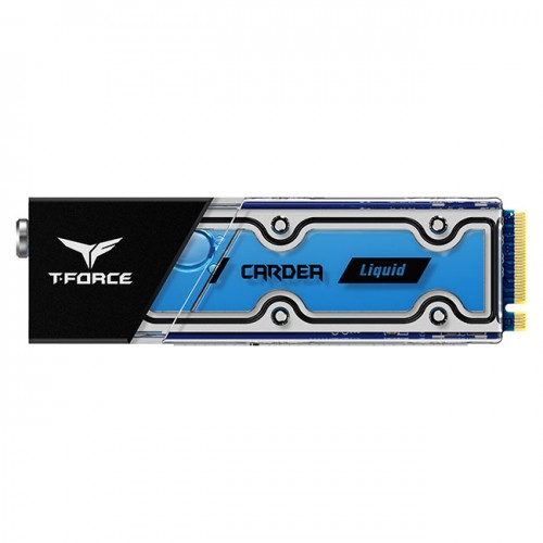 TEAM T-FORCE CARDEA Liquid Water Cooling M.2-2280 PCIe 512GB SSD