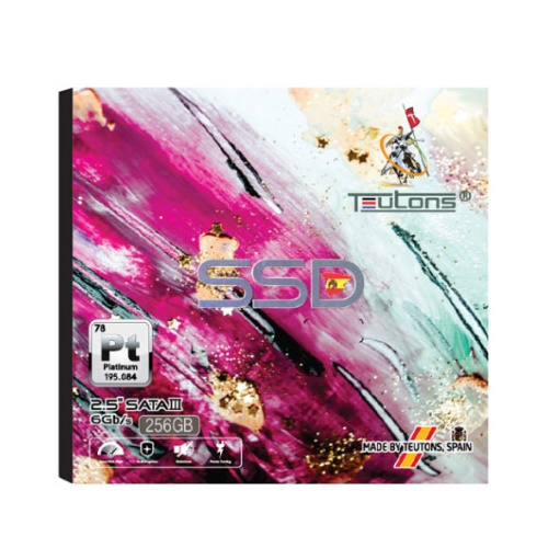 Teutons PLATINUM 256GB 2.5'' SATA Internal SSD