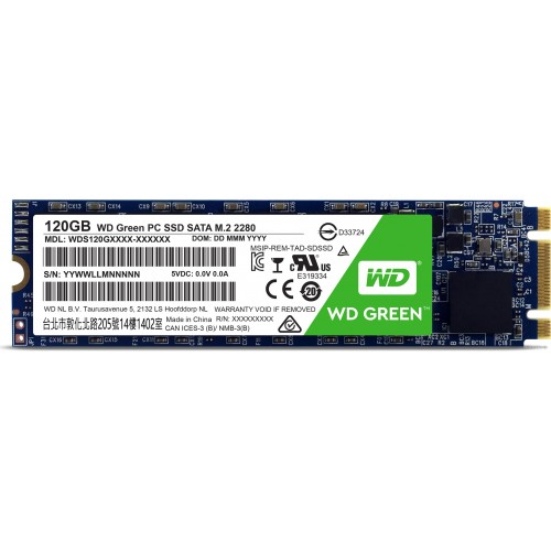 Western Digital 120GB M.2 SSD