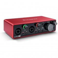 Focusrite Scarlett 2i2 3rd Generation PC Audio Interface