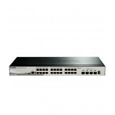 D-Link Layer 3 Lite 24 Port Gigabit 4 SFP Plus Smart Managed Gigabit Switch