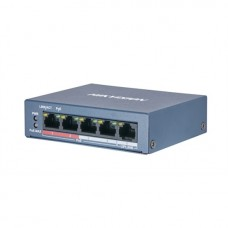 Hikvision DS-3E0105P 100MB 5 Port PoE Ethernet Switch
