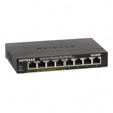 Netgear GS308P 8-Port Gigabit Ethernet Unmanaged Switch with 4-Port PoE