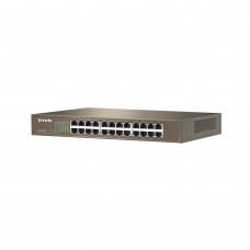 Tenda TEF1226P 24-Port 10/100Mbps + 2 Gigabit Web Smart PoE Switch