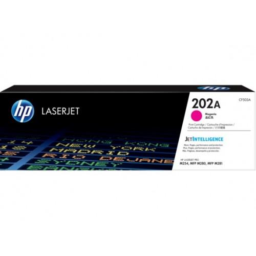 HP 202A Magenta Original LaserJet Toner Cartridge