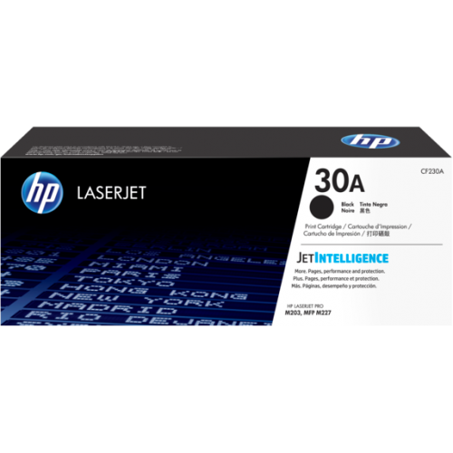 HP 30A  Black Original LaserJet Toner Cartridge (For M203 Printer)