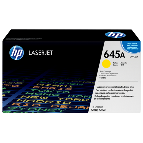 HP 645A Yellow Original LaserJet Toner Cartridge