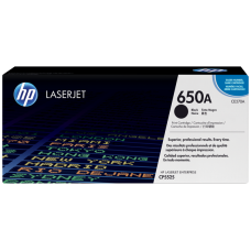 HP 650A Black Original LaserJet Toner