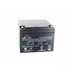 Leoch LP12-26 (12V 26Ah) Sealed Lead Acid Battery