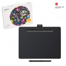 Wacom Intuos Wireless Bluetooth Graphic Tablet With Wi-Fi (CTL6100WLK0)