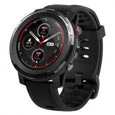 "Xiaomi Amazfit A1929 Stratos 3 1.34"" Round Shape Touch Screen Smart Watch Black"
