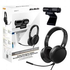 AVerMedia BO317 Camera & Headphone Video Conference Kit