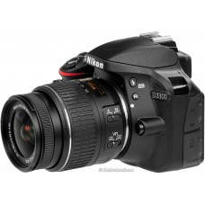 Nikon D3300 DSLR 24.2 MP FHD Video With 18-55mm Lens