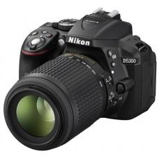 Nikon D5300 DSLR 24.2 MP Builtin Wi-Fi With 18-55mm Lens