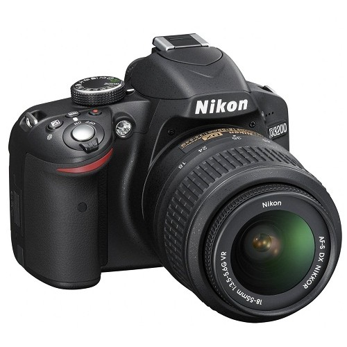 Nikon D3200 DSLR 24.2 MP With 18-55mm Lens