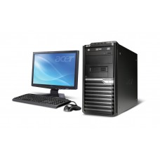 "Acer Veriton PDC 500GB HDD 19.5"" Brand PC"