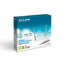 TP Link TL-W8961N 300Mbps Wireless N ADSL2+ Modem Router